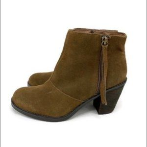 Crown Vintage FLYNN Suede Leather Ankle Boots